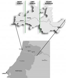 Localização Douro