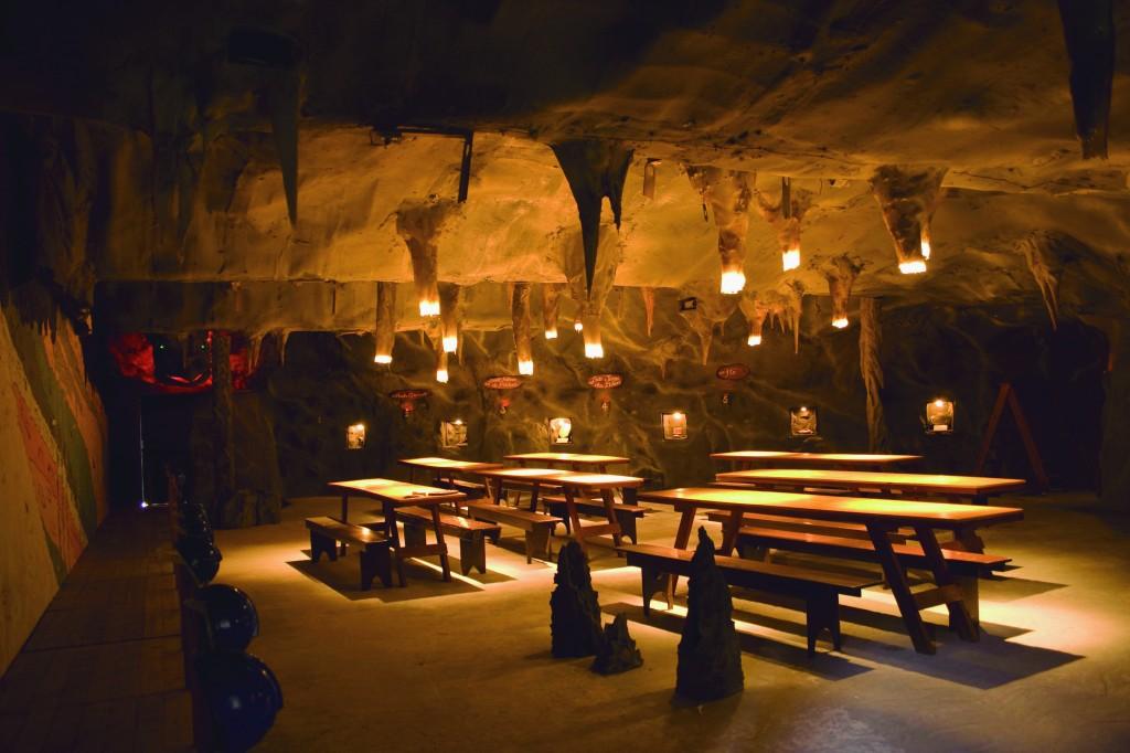 Fundação CEU Brotas caverna