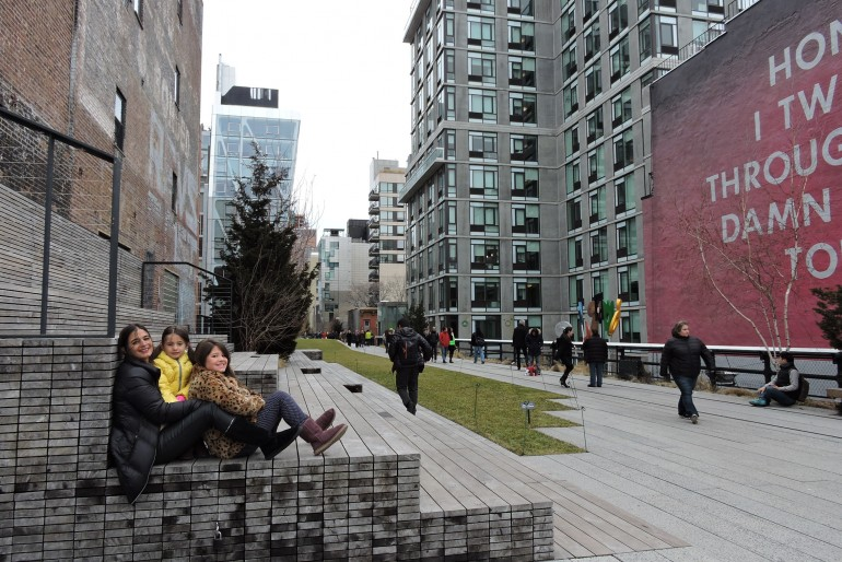 Nova York com crianças – um passeio pelo High Line