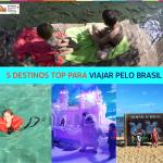Os melhores destinos no Brasil