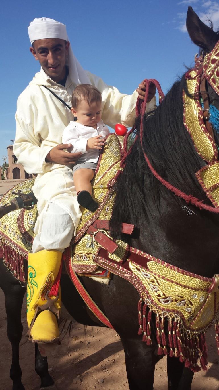 Marrakech com bebês