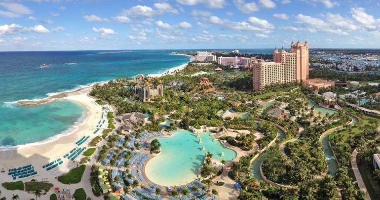 Atlantis Paradise Island Resort nas Bahamas com crianças