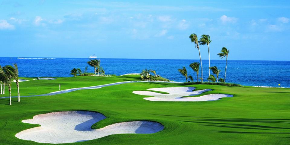 Atlantis Resort Bahamas com crianças_Campo de Golf