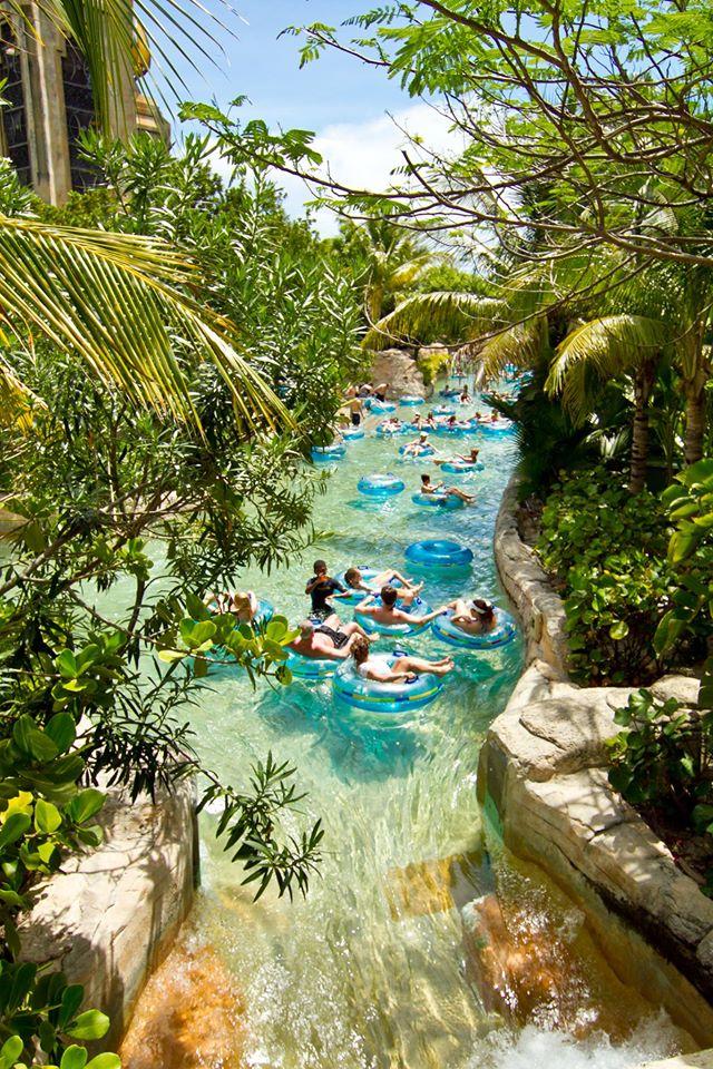 Atlantis Resort Bahamas com crianças_parque aquático
