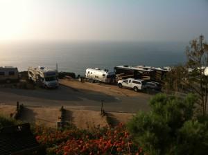 Nossa vista de Malibu