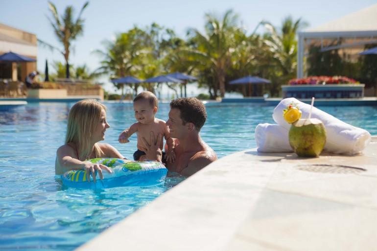 Férias de julho em família no Infinity Blue Resort & Spa