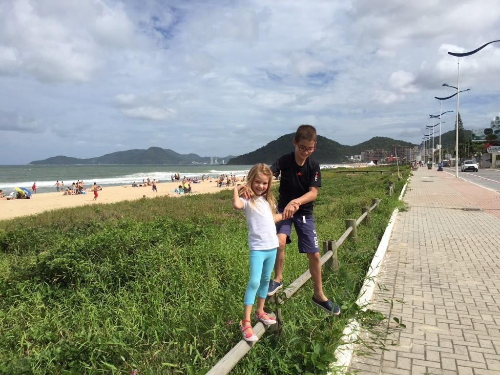 Praia Brava com Crianças