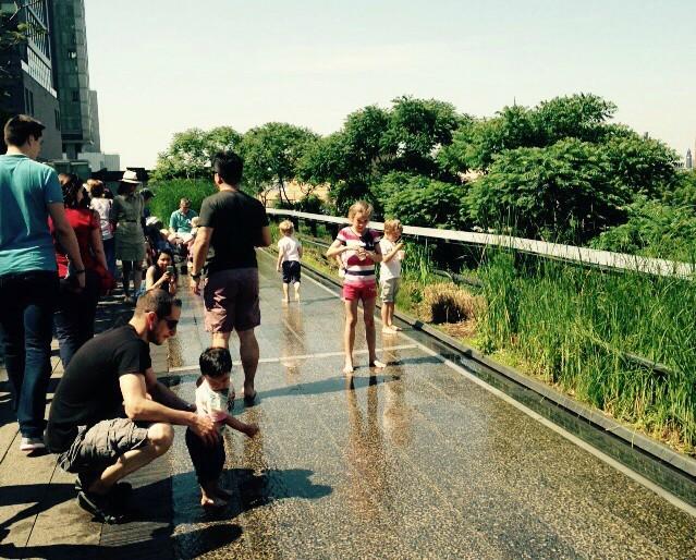 Verão em Nova York com as crianças