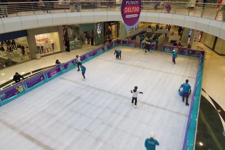 Férias em Curitiba com as Crianças: Patinação no Gelo
