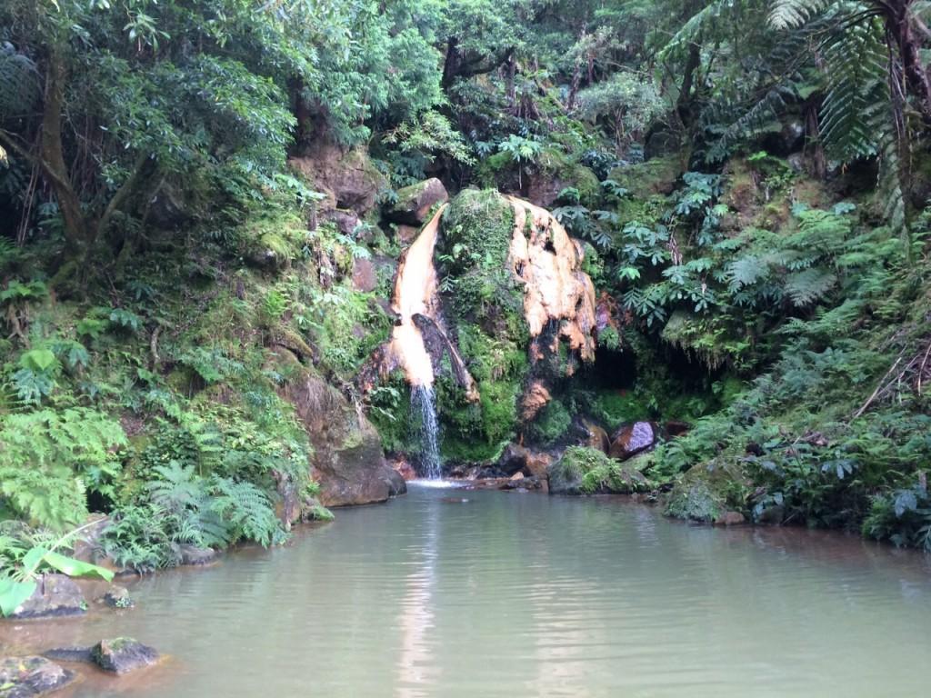 Caldeira Velha em Ribeira Grande