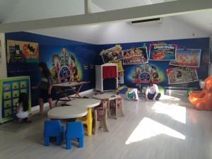 O Espaço Kids tem uma parceria com o Beto Carrero World