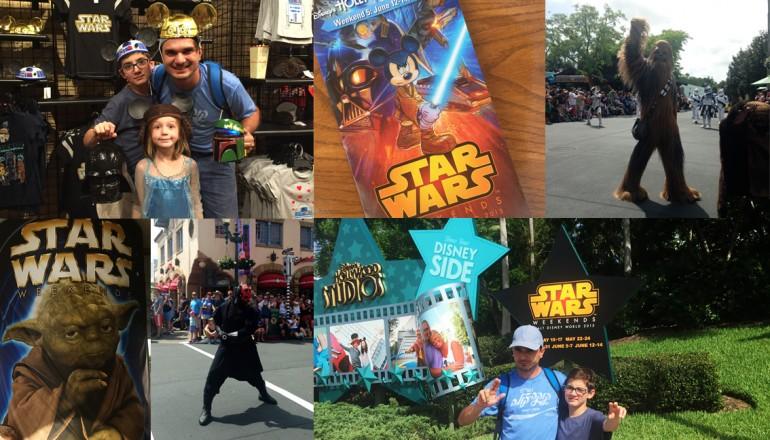 Como é o Star Wars Weekends