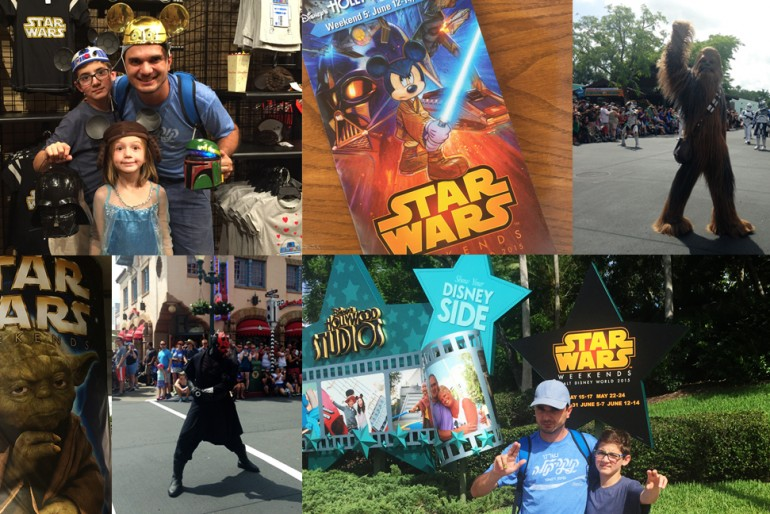 Como é o Star Wars Weekends