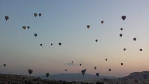 Balões na Kapadokya
