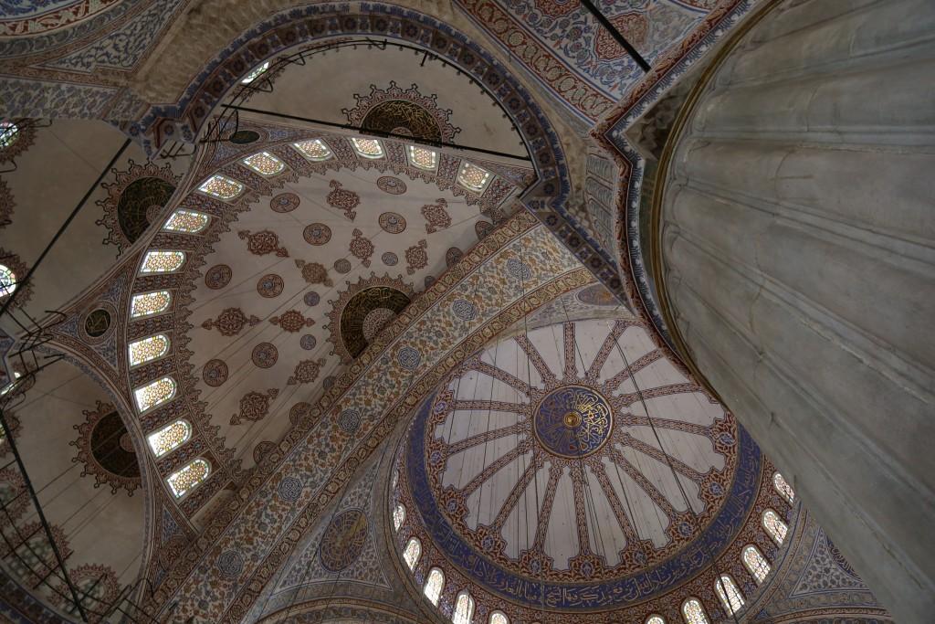 Interior Mesquita Azul