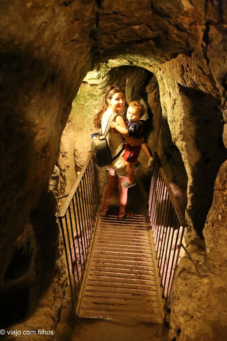 Capadócia com crianças: cidade subterrânea, trekking e por do sol no Vale Rosa