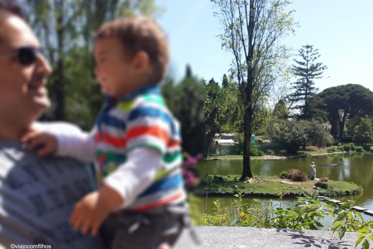 Lisboa: Estufa Fria com crianças