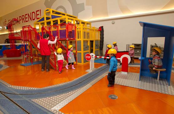 Lisboa com crianças: Pavilhão do Conhecimento