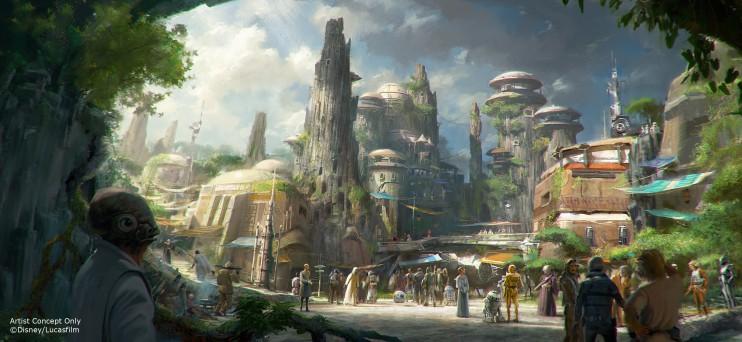 Nova área Star Wars