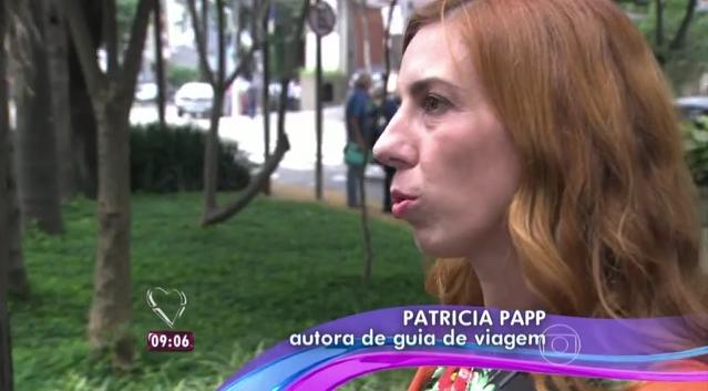Patricia Papp dá dicas de viagens de Ano Novo no programa Mais Você