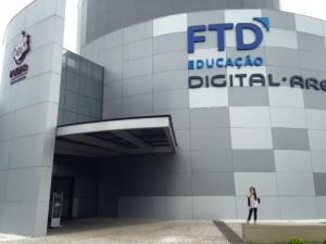 Fachada da FTD Digital Arena