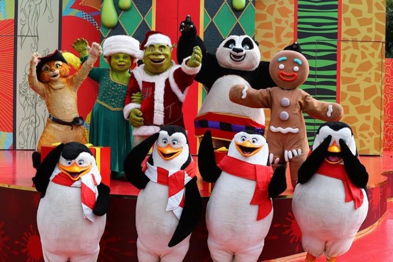 Natal do Shrek no Beto Carrero