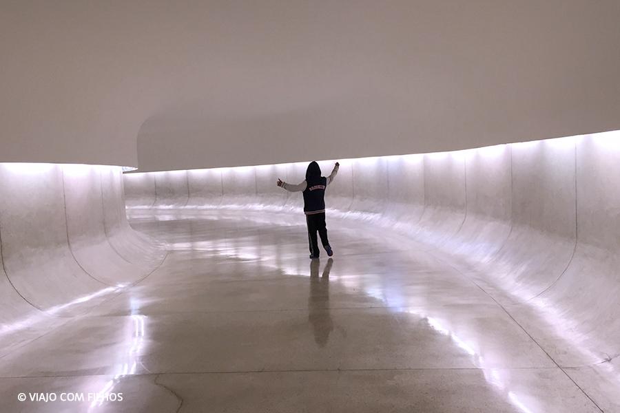 Corredor do Museu Orcar Niemeyer