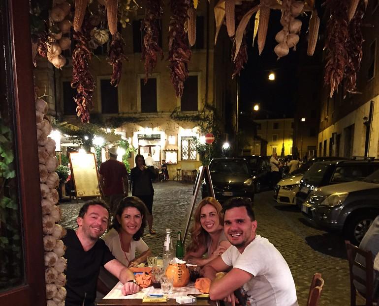 Restaurantes em Roma para comer muito bem