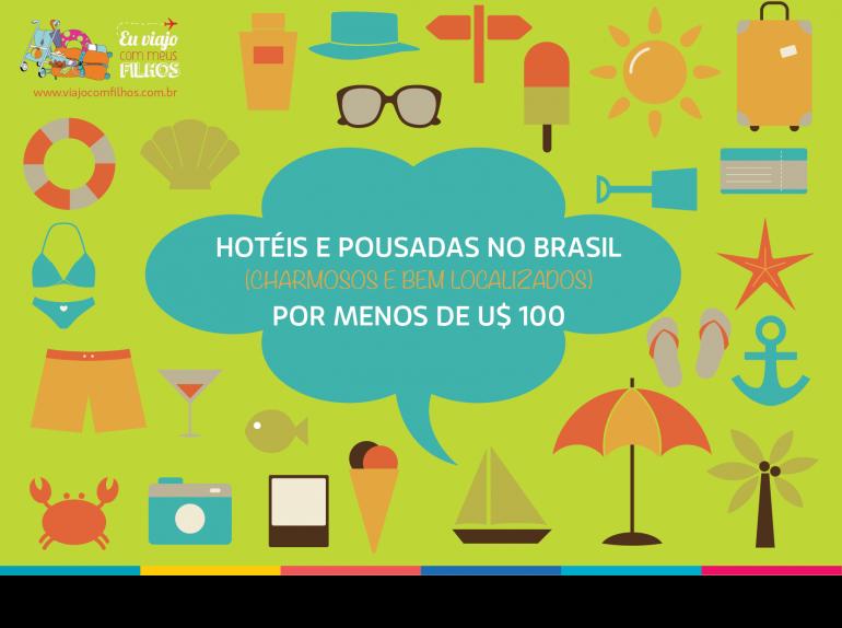 Hoteis no Brasil por menos de R$ 350