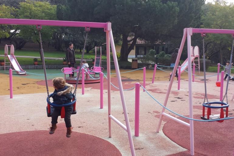 Lisboa com crianças: parque do Alto da Serafina