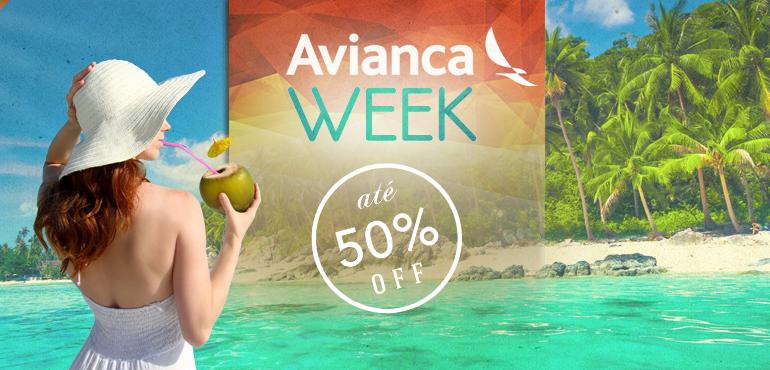 Avianca Week – Pacotes para o Caribe com preços promocionais!