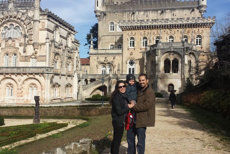 Portugal com crianças: uma visita à Mata do Buçaco