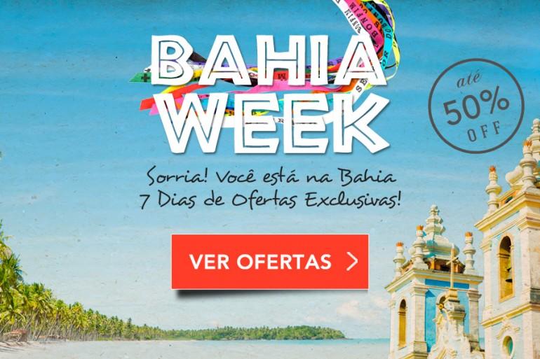 Hoteis na Bahia com desconto de até 50% no Bahia Week.