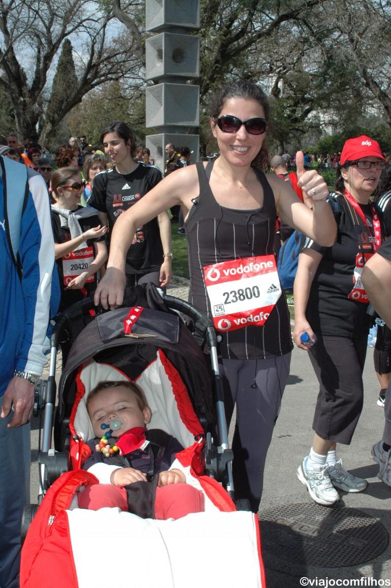 Lisboa com crianças: Meia Maratona. Um programa muito bacana!