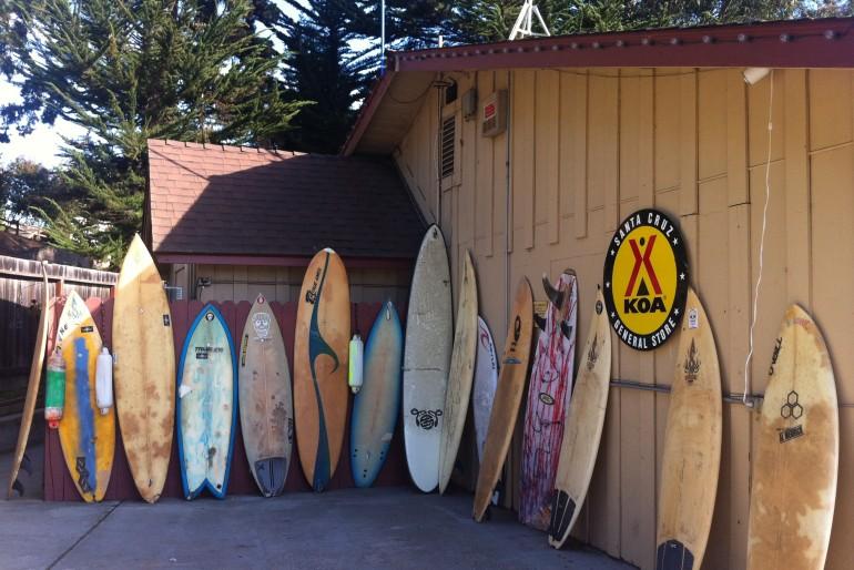Viagens de Surf em família