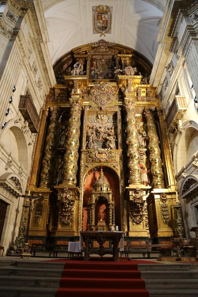 Interior do Convento de San Esteban
