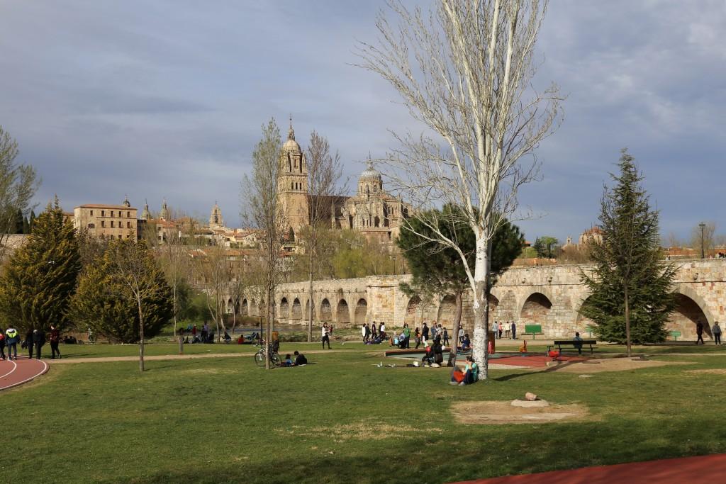 Parque Elio Antonio de Nebrija e Ponte Romano