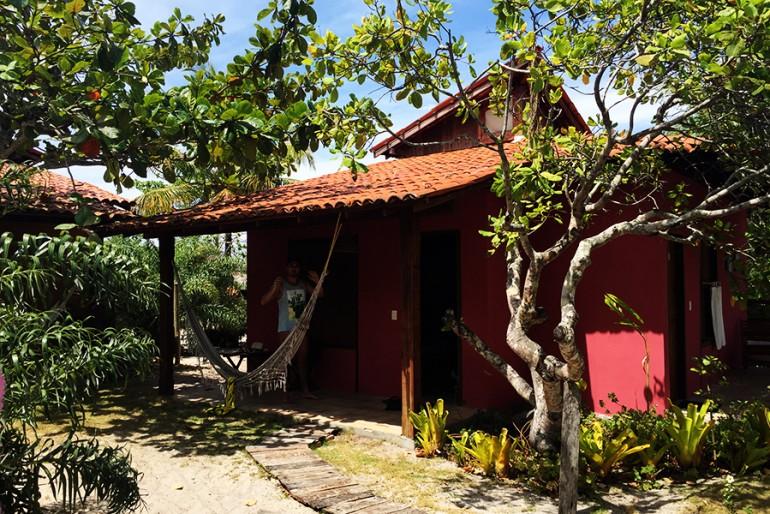 Hotel em Caraíva: Pousada Terra