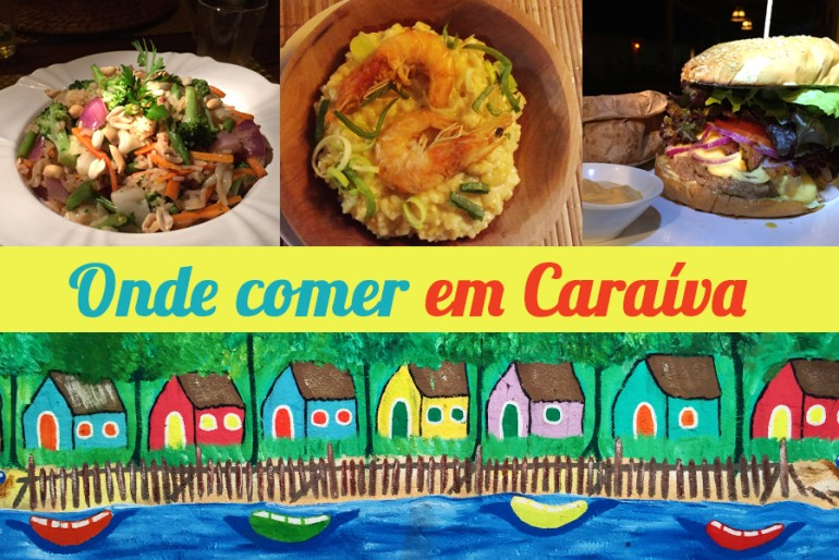 Restaurantes em Caraíva (Bahia)