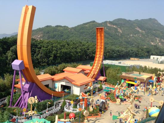 Toy Story Land - Disneyland Hong Kong