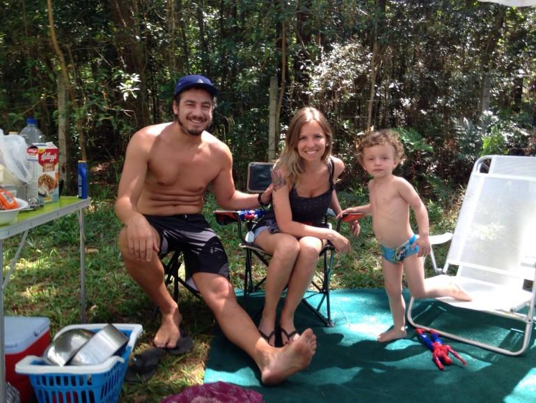 Acampamento com filhos em Florianópolis