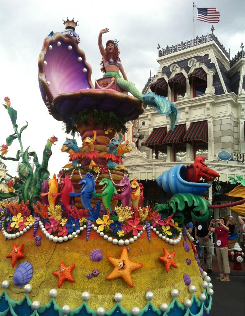 Parada da tarde Disney