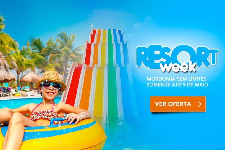 Resort Week: hotéis no Brasil com até 50% de desconto