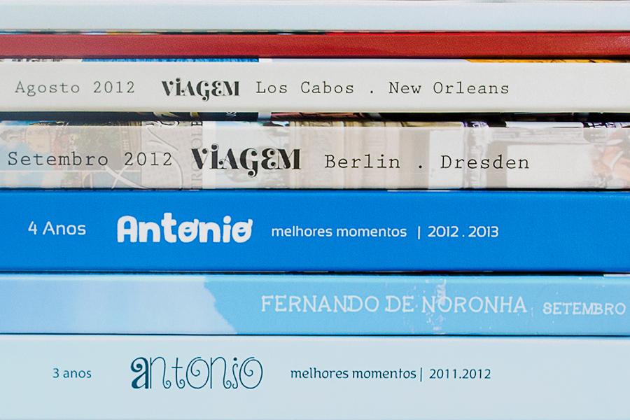 Fotos livros de viagem
