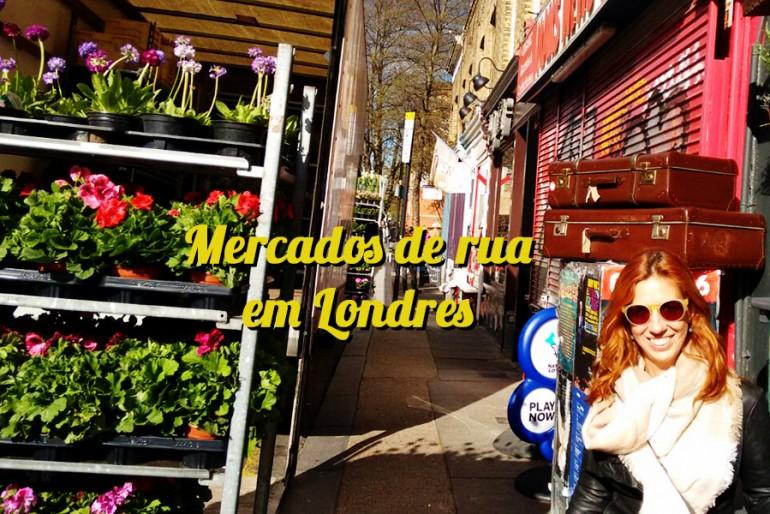 5 mercados em Londres que são imperdíveis