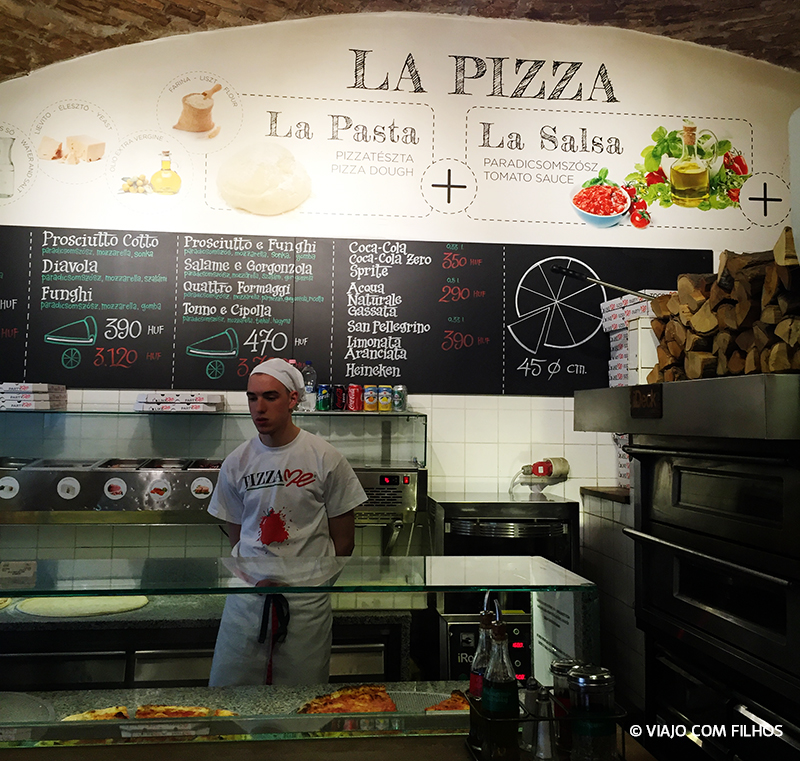 La pizza - restaurantes em Budapeste
