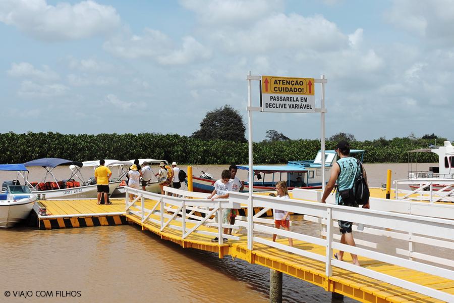 Porto para embarque Delta Parnaíba
