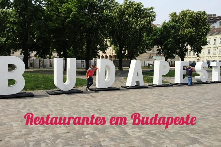 Restaurantes em Budapeste (Hungria)