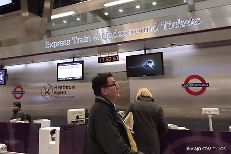 Como ir do aeroporto para Londres gastando pouco