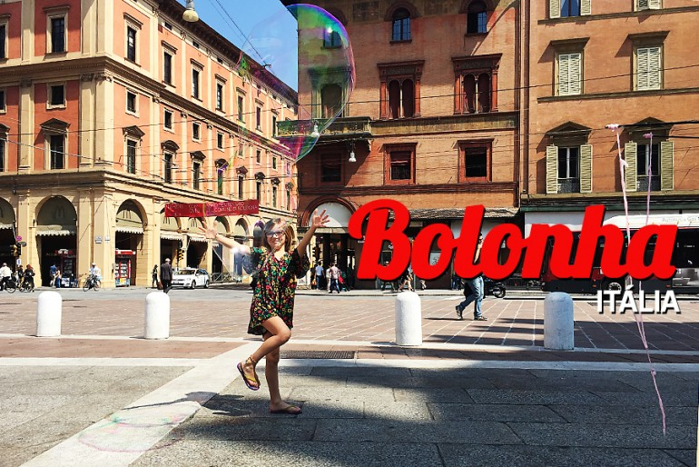 As melhores viagens com crianças: Bolonha (Itália)